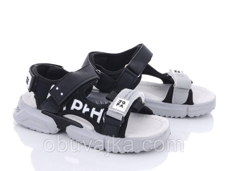 Дитяче літнє взуття 2021 оптом. Дитячі босоніжки бренду CBT T для хлопчиків (рр. з 31 по 36)