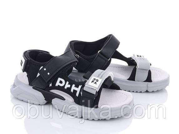 Дитяче літнє взуття 2021 оптом. Дитячі босоніжки бренду CBT T для хлопчиків (рр. з 31 по 36), фото 2