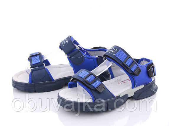 Детская летняя обувь 2021 оптом. Детские босоножки бренда CBT T для мальчиков (рр. с 31 по 36), фото 2
