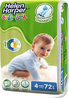 Підгузники дитячі Helen Harper Soft&Dry 4 Maxi (7-18 кг) 72 шт