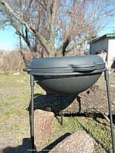 Казан чавунний азіатський з кришкою-сковородою Сітон Об'єм 12 л