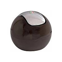 Косметичний відро на стіл для сміття Trento Top шоколад