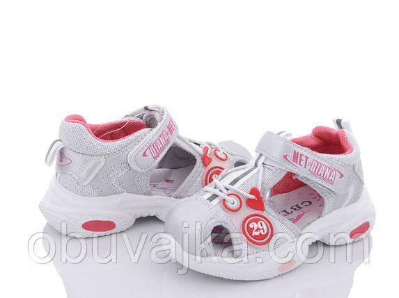 Літнє взуття оптом Босоніжки для дівчинки від виробника CBT T (рр 24-29), фото 2