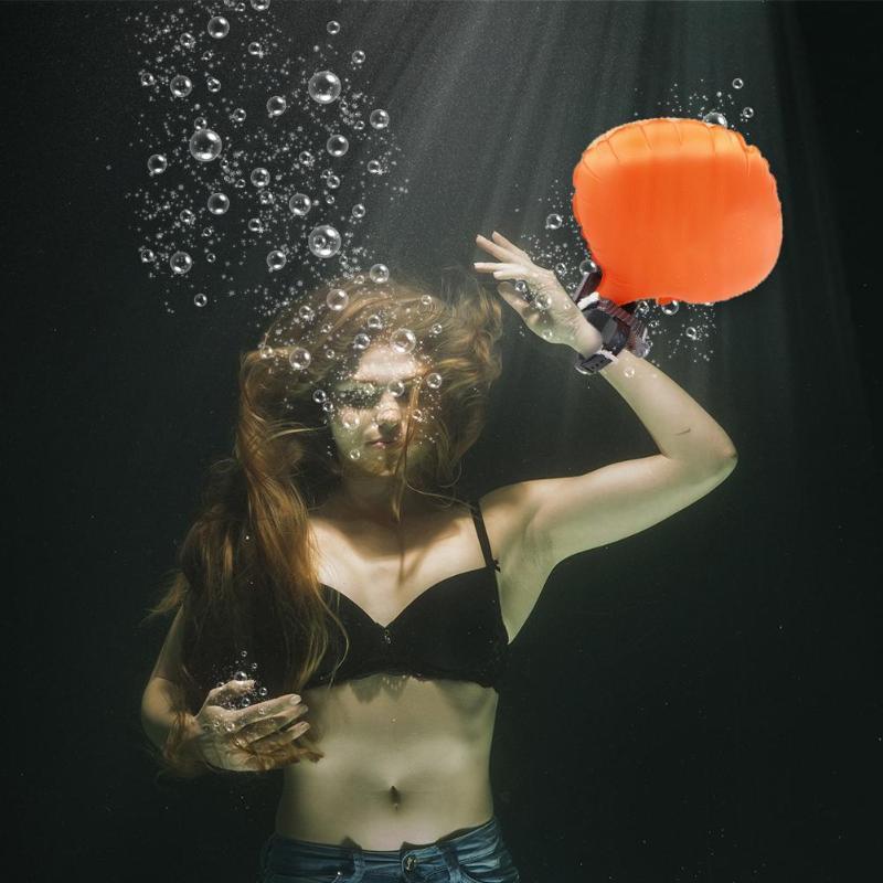 Аварійний рятувальний браслет. Рятувальна подушка для плавання на різьбовий балон СО2