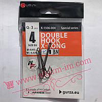 Офсетний гачок Gurza Worm 310 LE #1 ( D-0,79 мм / W-0,220 г ) 5 шт./уп. з Широким вушком