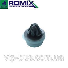 Клипса крепления внутренней обшивки серо-белая на Renault Trafic (2001-2014) Romix (Польша) С30141
