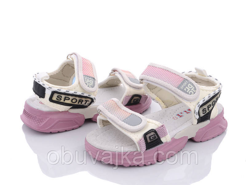Літнє взуття оптом Босоніжки для дівчинки від виробника CBT T (рр 31-36)