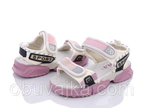 Літнє взуття оптом Босоніжки для дівчинки від виробника CBT T (рр 31-36), фото 2