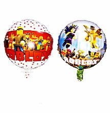Воздушные фольгированные шары roblox роблокс диаметр 45 см шарик двухсторонний