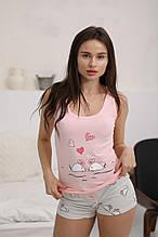 Майка з шортами Pink бавовна Туреччина