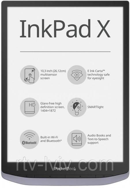 Электронная книга PocketBook Inkpad X
