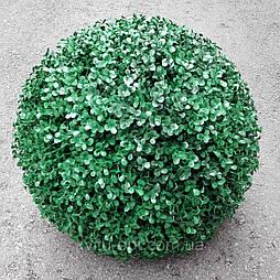 Шар самшит длинный зеленый  46см