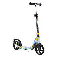 Двоколісний Самокат Scooter 280 для дітей від 5 років з PU колесами, фото 1