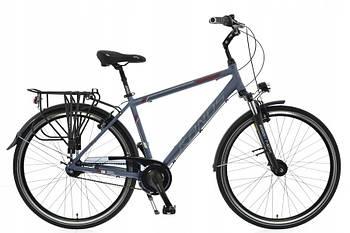 Велосипед 28 Kands S-Comfort Nexus 7 світло-сірий Польща