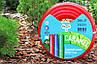 Шланг поливочный Presto-PS силикон садовый Caramel (красный) диаметр 3/4 дюйма, длина 20 м (SE-3/4 20), фото 4