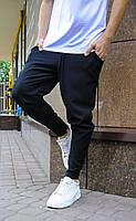 Брюки мужские черного цвета (черные) Asos, турецкие однотонные штаны зауженные к низу весна лето