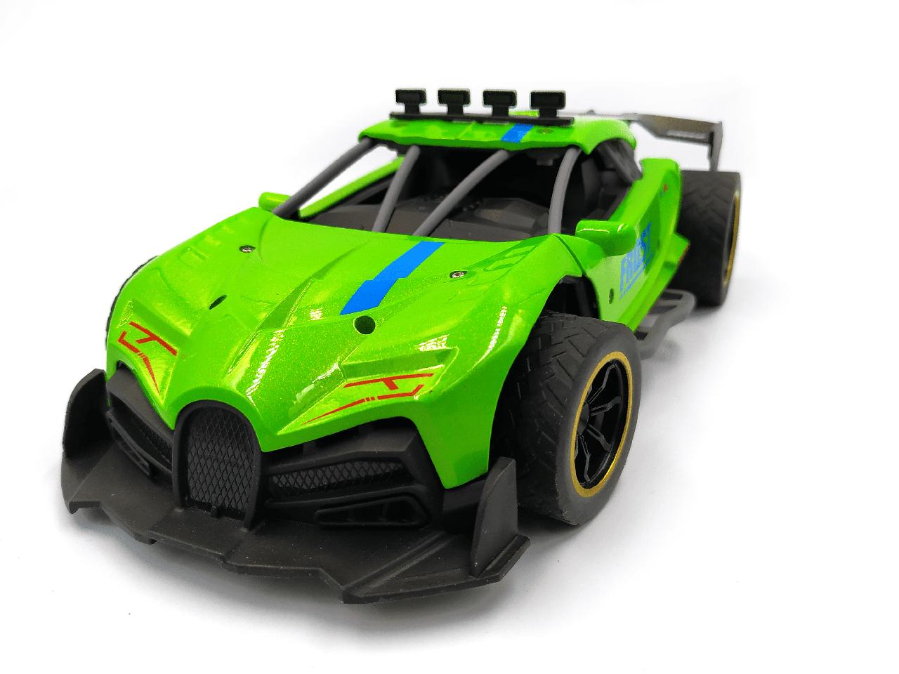 Машина на радиоуправлении Frost метало-пластик Зеленая