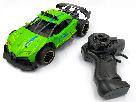Машина на радиоуправлении Frost метало-пластик Зеленая, фото 4