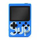 Игровая консоль приставка с дополнительным джойстиком dendy SEGA 168 игр 8 Bit SUP Game, Синий, фото 2
