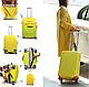 Чехол для чемодана микродайвинг размер L, фото 4