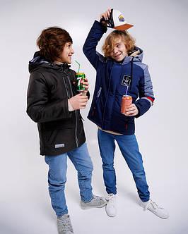 Детские демисезонные куртки для мальчиков
