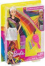 Кукла Барби Радужное сияние волос - Barbie️ Rainbow Sparkle Hair Doll