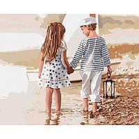 Картина по номерам Идейка Дружба 40х50 см KHO2328, КОД: 1318826