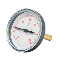 Термометр осевой  красный(подачи) (58071.504) для насосных групп и комплектов Meibes (Германия)