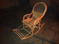 Кресло-качалка из  цельной лозы Амфора