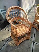 """Кресло из лозы """"Изысканное"""""""