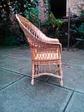 """Кресло из лозы """"Капля"""", фото 3"""
