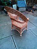 """Кресло из лозы """"Капля"""", фото 4"""