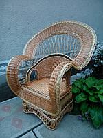 """Кресло из лозы """"Королевское"""""""