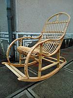 Кресло-качалка плетеное из лозы Уют