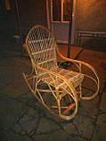 Кресло-качалка из лозы Принцесса, фото 2