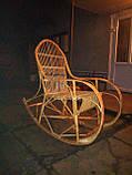 Кресло-качалка из лозы Принцесса, фото 3