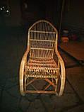 Кресло-качалка из лозы Принцесса, фото 4