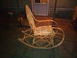 Кресло-качалка из лозы Принцесса, фото 5