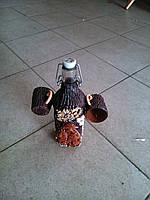 Бутылка для спиртного со стаканчиками