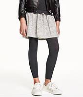 Подростковые леггинсы H&M для девочки (набор из 2-х пар)