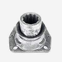 Фланец вала вторичного ЗИЛ-130 для КПП с ручным приводом стояночного тормоза с отражателем / 130-1701147-10