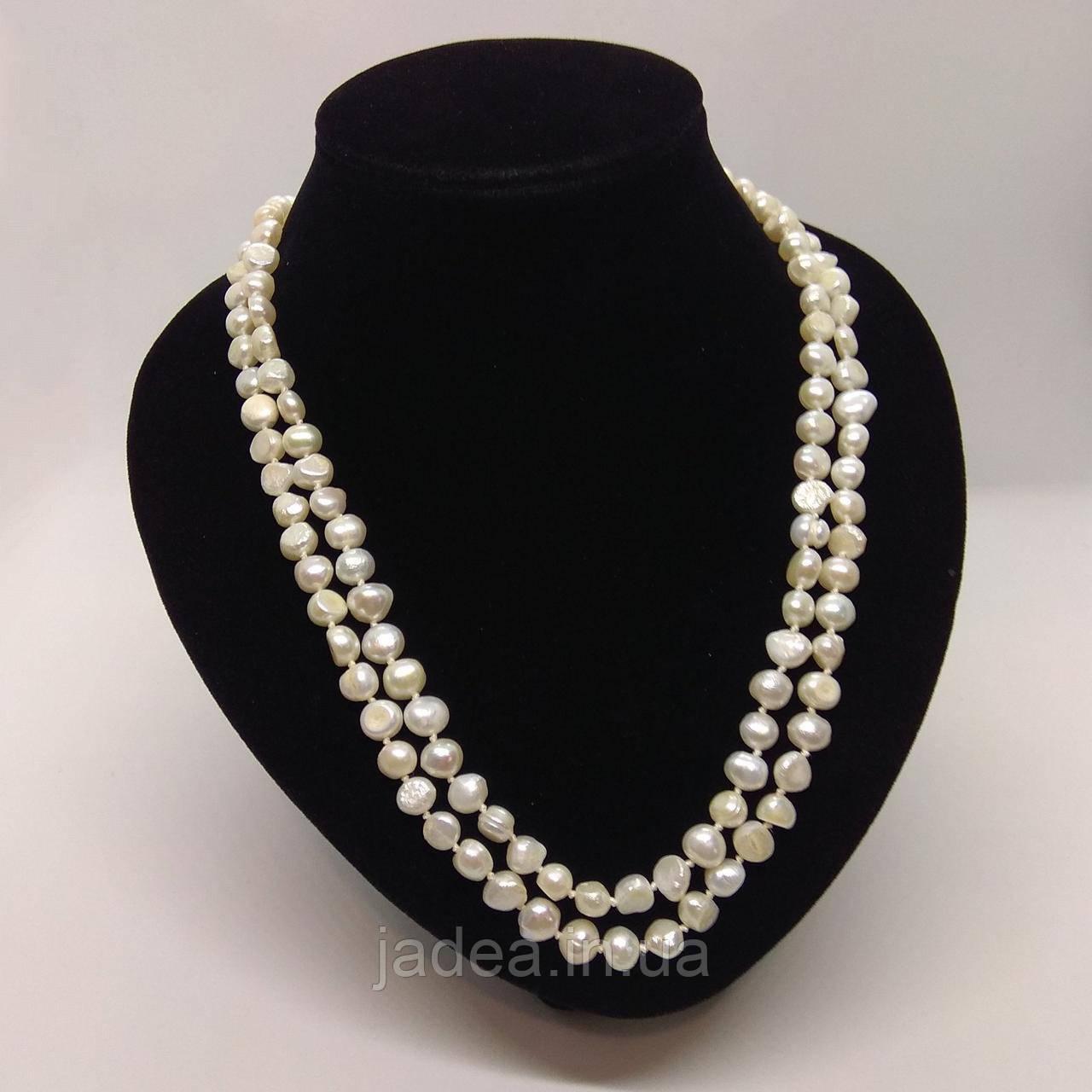 Намисто з барочних перлів 120 см
