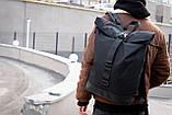Рюкзак чоловічий міської роллтоп рол SEGA, фото 9