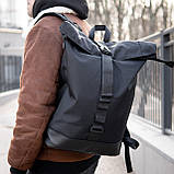 Рюкзак чоловічий міської роллтоп рол SEGA, фото 8