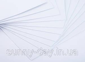 Фоаміран лист (50х50см), колір  - білий