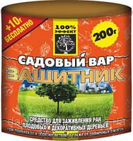 Средство для лечения ран деревьев Садовый вар Защитник 220 г туба Агромакси
