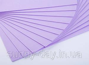 Фоаміран лист (50х50см), колір  - ліловий