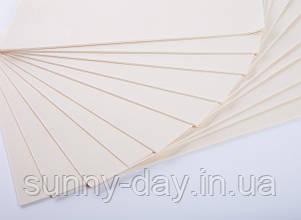 Фоаміран лист (50х50см), колір  - бежевий