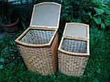 Ящики для белья выпуклые с окантовкой, фото 2