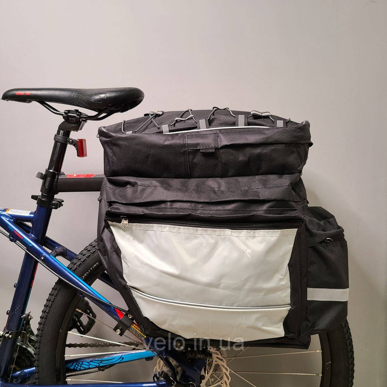 "Сумка ""ШТАНЫ"" на багажник для велосипеда"
